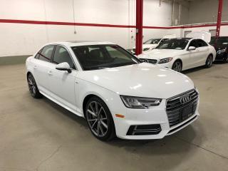 Used 2018 Audi A4 Sedan QUATTRO S-LINE SPORT PROGRESSIV for sale in Vaughan, ON