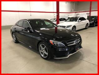 Used 2017 Mercedes-Benz C-Class C300 4MATIC PREMIUM SPORT LED CLEAN CARFAX! for sale in Vaughan, ON