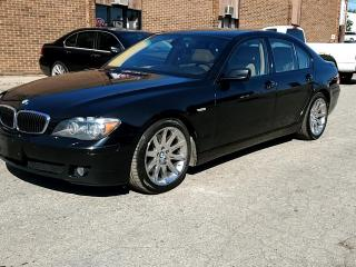 Used 2006 BMW 7 Series 4dr Sdn 750i for sale in Kitchener, ON