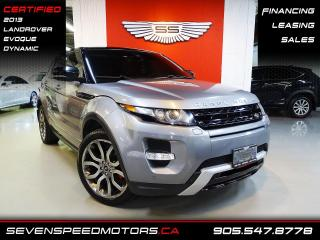 Used 2013 Land Rover Evoque DYNAMIC | NAVI | CERTIFIED | FINANCE @4.65% for sale in Oakville, ON