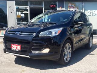 Used 2016 Ford Escape 4WD 4DR TITANIUM for sale in Bowmanville, ON