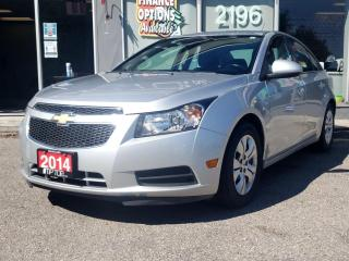 Used 2014 Chevrolet Cruze 4dr Sdn 1LT for sale in Bowmanville, ON