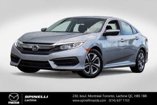 Used 2016 Honda Civic LX Auto Sieges Chauffants Camera de Recule Honda Civic LX 2016 for sale in Lachine, QC