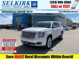 New 2020 GMC Yukon XL Denali  - Cooled Seats -  Heated Seats for sale in Selkirk, MB