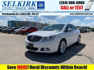 Used 2016 Buick Verano Leather Group  - Leather Seats for sale in Selkirk, MB