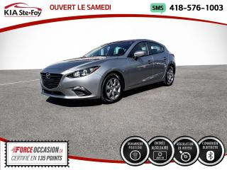 Used 2015 Mazda MAZDA3 * GX* A/C* BLUETOOTH* MANUELLE * for sale in Québec, QC
