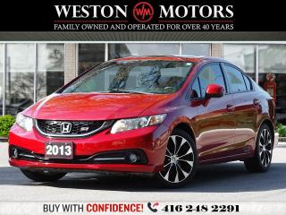 Used 2013 Honda Civic SI*6SPEED*SUNROOF*REVERSE CAMERA* for sale in Toronto, ON