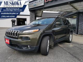 Used 2015 Jeep Cherokee North  - Low Mileage for sale in Bracebridge, ON