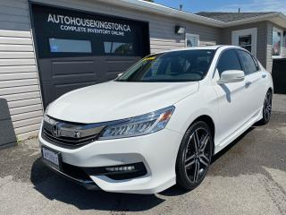 Used 2017 Honda Accord Touring for sale in Kingston, ON