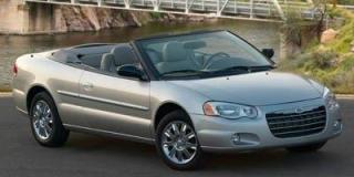 Used 2006 Chrysler Sebring CONV Base for sale in Moose Jaw, SK