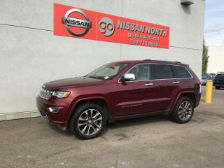 Used 2017 Jeep Grand Cherokee Overland 4dr 4WD Sport Utility / Keyless Entry / 19 Speakers for sale in Edmonton, AB