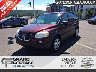 Used 2007 Pontiac Montana Empattement ordinaire 4 portes avec 1SA for sale in Rivière-Du-Loup, QC