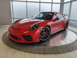 Used 2018 Porsche 911 GT3 | CPO | Ext. Warranty | Manual | Carbon Seats | BOSE | Front Axle for sale in Edmonton, AB