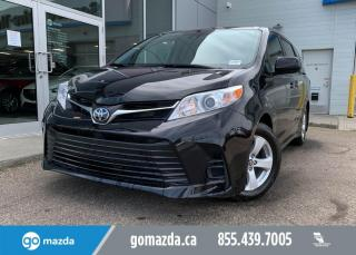 Used 2020 Toyota Sienna LE - 8 PASSANGER, TOYOTA SAFETY PKG, HEATED SEATS, BACK UP CAM, PERFECTLY FAMILY MINIVAN! for sale in Edmonton, AB