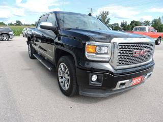 Used 2015 GMC Sierra 1500 Denali Navigation Sunroof Leather Loaded for sale in Gorrie, ON