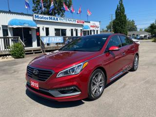 Used 2015 Hyundai Sonata 2.0T ULTIMATE-ONE OWNER-ACCIDENT FREE for sale in Stoney Creek, ON