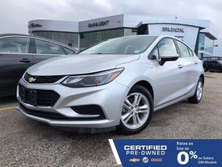 Used 2018 Chevrolet Cruze Hatchback LT FWD | Remote Start | Heated Seats for sale in Winnipeg, MB