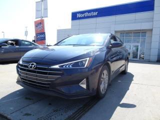 Used 2020 Hyundai Elantra PREFERRED FWD: SAFETY PKG, APPLE CARPLAY/HEATED SEATS AND STEERING/PROXY KEY for sale in Edmonton, AB