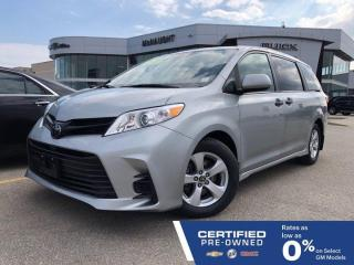 Used 2019 Toyota Sienna FWD | Touchscreen Radio | Tri-Zone Climate Controls for sale in Winnipeg, MB