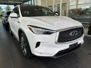 Used 2019 Infiniti QX50 SENSORY AWD, ACCIDENT FREE, POWER HEATED/VENTED LEATHER SEATS AND STEERING WHEEL, NAVI for sale in Edmonton, AB