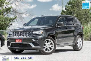Used 2015 Jeep Grand Cherokee Summit|Diesel|DVD|No accidents| for sale in Bolton, ON