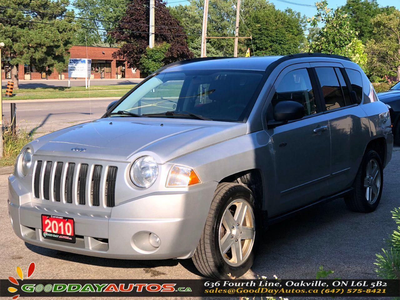 used 2010 jeep compass north edition low km extended warranty certified for sale in oakville, ontario carpages.ca