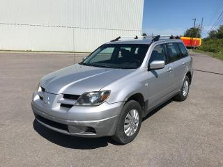 Used 2003 Mitsubishi Outlander 4 portes, Traction Intégrale, LS for sale in Québec, QC