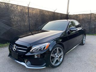 Used 2015 Mercedes-Benz C-Class C400-4MATIC-AMG PKG-NAVI-CAMERA-PANO ROOF for sale in Toronto, ON