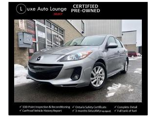Used 2012 Mazda MAZDA3 GS-SKY, SPORTY HATCHBACK, LEATHER HEATED SEATS!! for sale in Orleans, ON