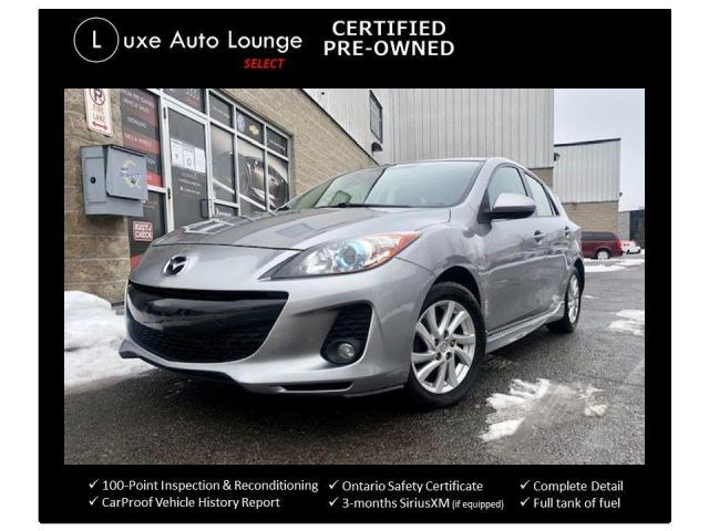 2012 Mazda MAZDA3 GS-SKY, SPORTY HATCHBACK, LEATHER HEATED SEATS!!