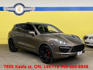 Used 2011 Porsche Cayenne Turbo, Carbon Fiber Package for sale in Vaughan, ON