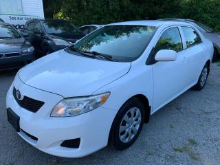 Used 2010 Toyota Corolla Safety Certification included the Asking price /Power Windows for sale in Toronto, ON