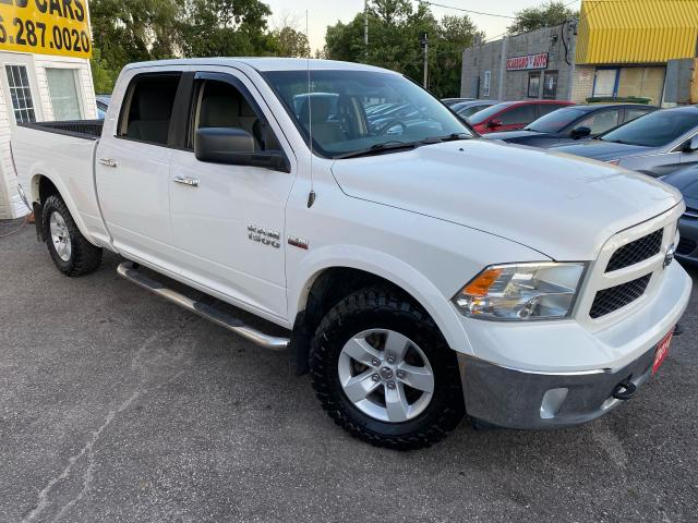2014 RAM 1500 OUTDOORSMAN/ CREW CAB/ 4X4/ NEW TIRES & MORE!