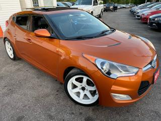 Used 2013 Hyundai Veloster NAVI/CAM/AUTO/PANO ROOF/LEATHER/BLUETOOTH/ ALLOYS for sale in Scarborough, ON