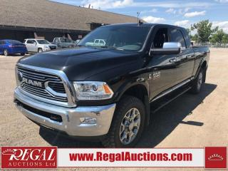 Used 2018 RAM 3500 LARAMIE LIMITED MEGA CAB 4WD 6.7L for sale in Calgary, AB