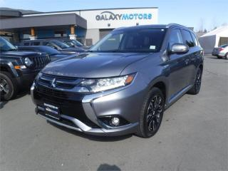 Used 2018 Mitsubishi Outlander Phev SE-4WD, HEATED SEATS, BLUETOOTH for sale in Victoria, BC