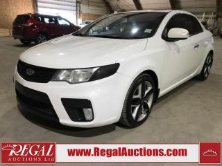 Used 2010 Kia Forte SX 2D Koup for sale in Calgary, AB