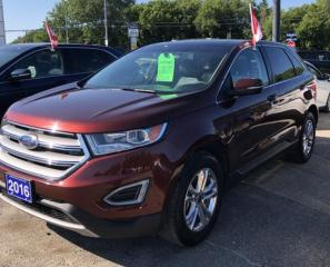 Used 2016 Ford Edge SEL for sale in Brockville, ON