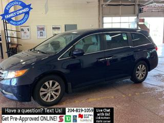 Used 2016 Honda Odyssey EX w-RES DVD htd seat PWR DOORS factory waranty for sale in Winnipeg, MB