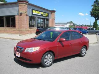 Used 2010 Hyundai Elantra Blue for sale in Brockville, ON