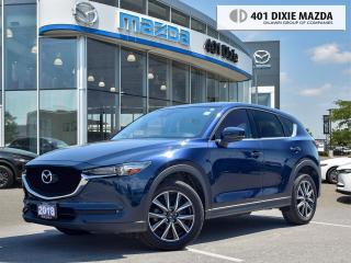 Used 2018 Mazda CX-5 GT |ONE OWNER|NO ACCIDENTS|1.99% FINANCING AVAILAB for sale in Mississauga, ON