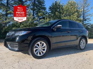 Used 2018 Acura RDX AWD TECH *NAVIGATION - SUNROOF - ADAPTIVE CRUISE* for sale in Winnipeg, MB