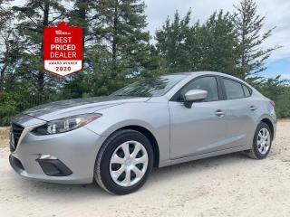Used 2016 Mazda MAZDA3 *REAR CAMERA - BLUETOOTH - SKYACTIV* for sale in Winnipeg, MB