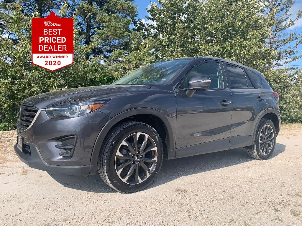 used 2016 mazda cx-5 awd gt heated leather - nav - adaptive cruise for sale in winnipeg, manitoba carpages.ca