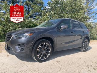 Used 2016 Mazda CX-5 AWD GT *HEATED LEATHER - NAV - ADAPTIVE CRUISE* for sale in Winnipeg, MB