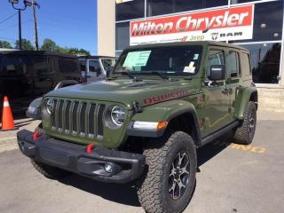 New 2020 Jeep Wrangler UNLIMITED RUBICON 4X4/ NAV/ 2 TOPS / LED for sale in Milton, ON