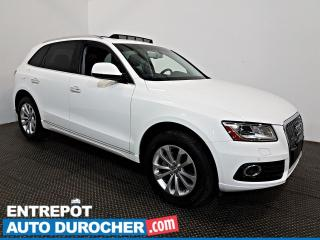 Used 2016 Audi Q5 2.0T Progressiv AWD NAVIGATION - Toit Ouvrant -A/C for sale in Laval, QC