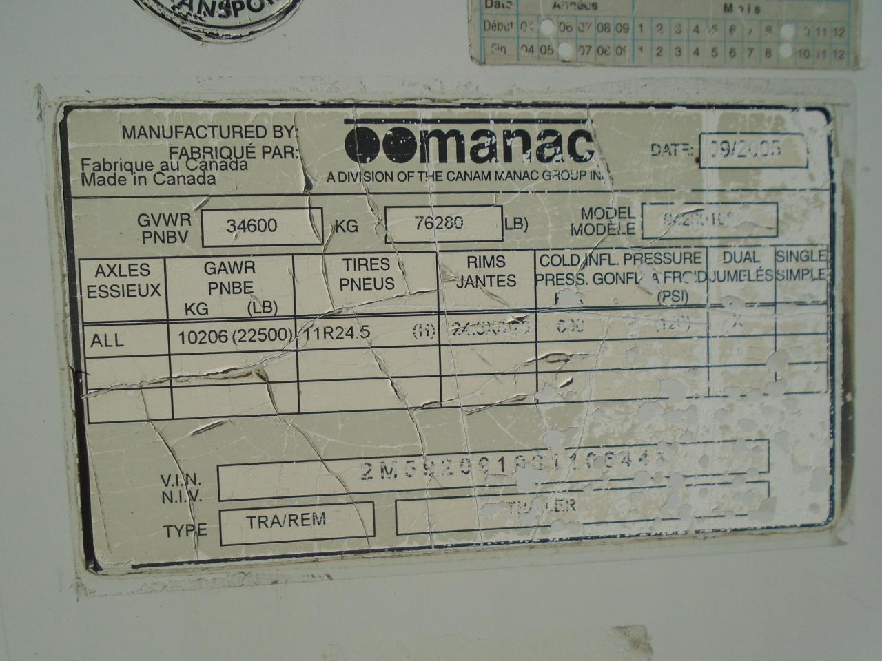 2006 MANAC B-TRAIN