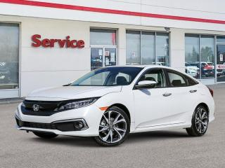 New 2020 Honda Civic Sedan Touring CVT for sale in Brandon, MB