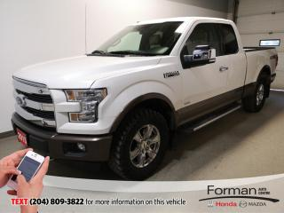 Used 2015 Ford F-150 Lariat|Warranty|Htd Lthr|Rmt Start|Low Kms|Loaded for sale in Brandon, MB